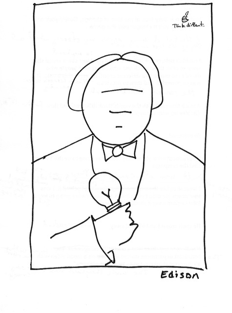 edison sketch