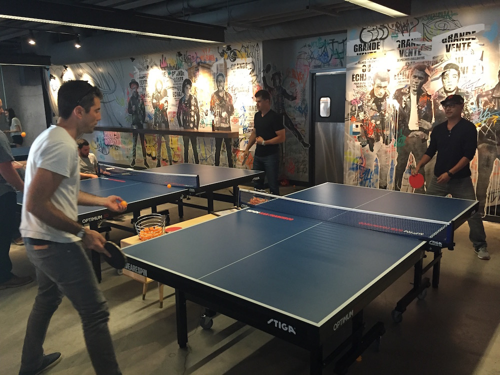 Spin The Ping Pong Startup Smartup