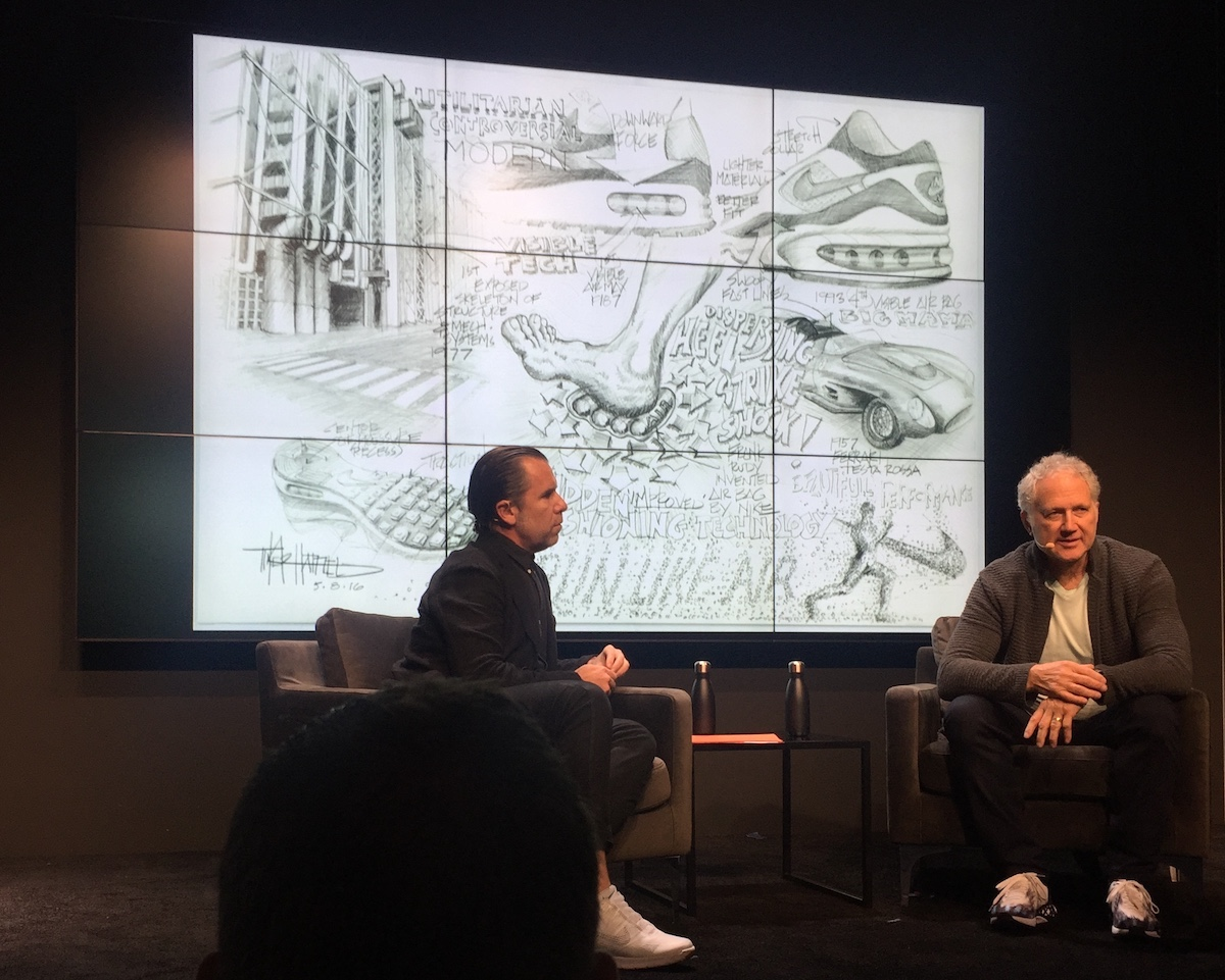 f8ac14d877b7 Nike Designer Tinker Hatfield on the Future of Shoes